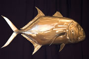 Wall mounted Metal Fish